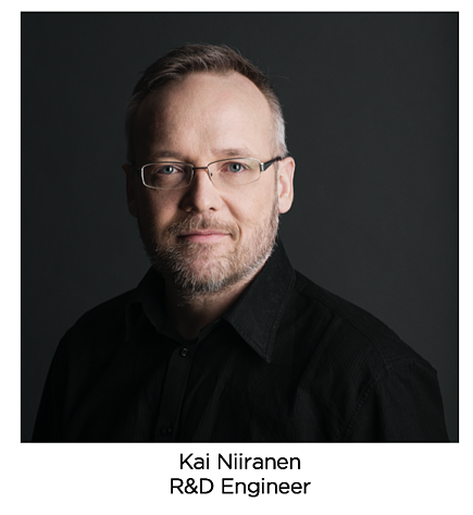 Kai Niiranen, R&D Engineer from Sparklike