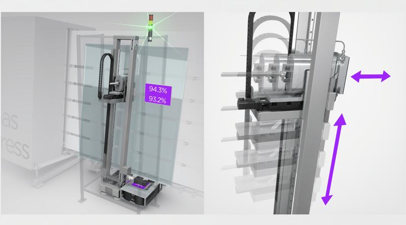 Sparklike Online: IG-line integrated and non-destructive turnkey solution for argon measurement